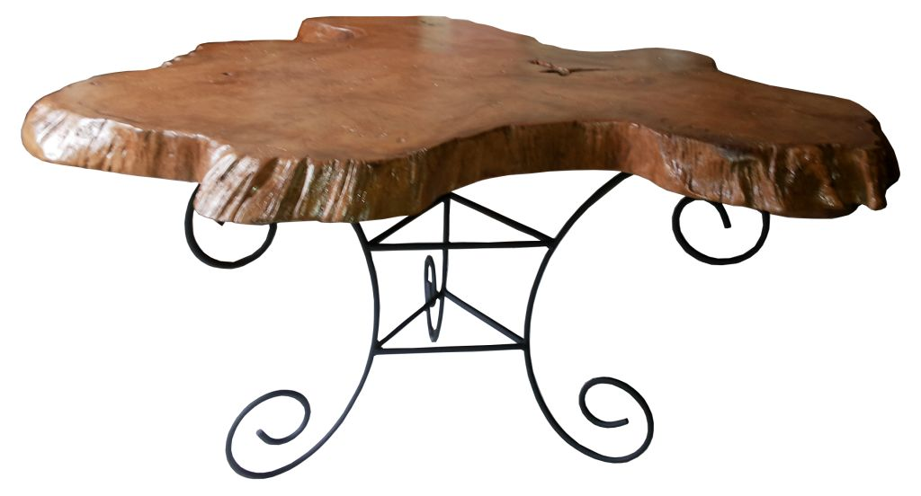 TR CTI 02 Coffe Table With Iron
